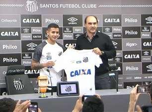 Reforço chega ao Santos com objetivo: ser melhor que Romero