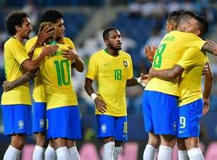 Em jogo morno, Jesus desencanta e Brasil vence a Arábia