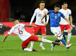 Itália vence e rebaixa a Polônia na Liga das Nações