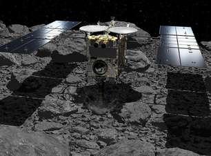 Por que uma sonda japonesa teria detonado explosivos em um asteroide