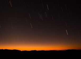 Brasileiros vão poder ver chuva de meteoros no fim de semana