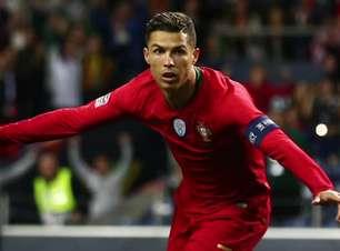 PORTUGAL: Gênio! Fernando Santos define CR7 após hat-trick
