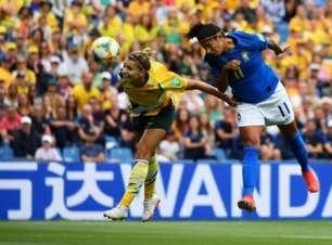Marta faz, mas Brasil perde para a Austrália de virada