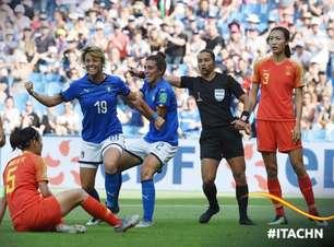 Itália bate a China e avança às quartas do Mundial Feminino