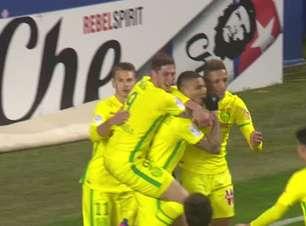 FUTEBOL: Ligue 1: Veja os gols de Diego Carlos, o brasileiro polivalente que chega ao Sevilha