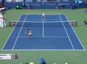 TÊNIS: WTA Cincinnati: Osaka vence Sasnovich (7-6, 2-6, 6-2)