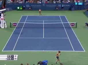 Keys vence Halep e enfrentará Venus Williams