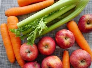 Cenoura e maçã fazem bem para sua saúde bucal