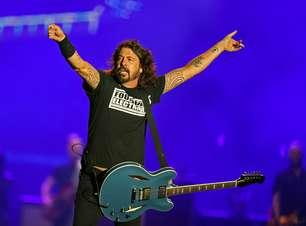 Foo Fighters cumpre seu papel e traz rock cinquentão ao Rio