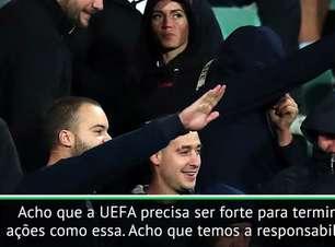 Emery pede 'forte atitude' da UEFA após caso de racismo na Bulgária