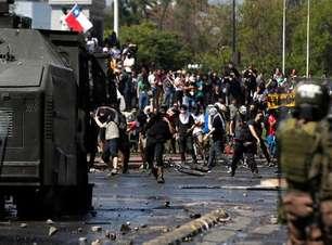 """""""Estamos em guerra"""", diz presidente do Chile após protestos"""