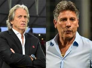 #25: Jorge Jesus e Renato Gaúcho 'assombram' Fla e Grêmio