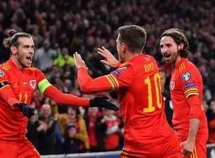 Ramsey brilha, Gales vence Hungria e se classifica para Euro