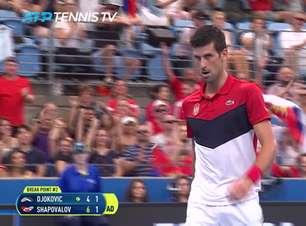 ATP Cup: Novak Djokovic v Denis Shapovalov - 4-6, 6-1, 7-6