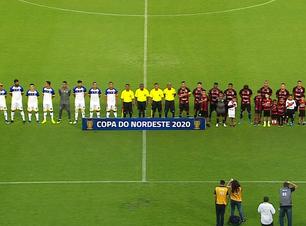 Vitória fica apenas no empate com Freipaulistano pela Copa do Nordeste