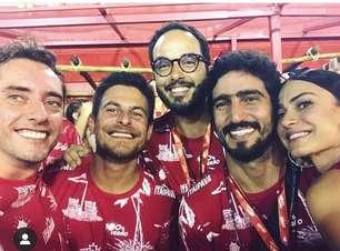 """Com câncer, Leonardo Rosa curte desfile: """"Me senti forte"""""""