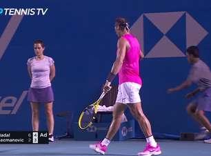 TÊNIS: ATP Mexican Open: Nadal supera Kecmanovic (6-2, 7-5)