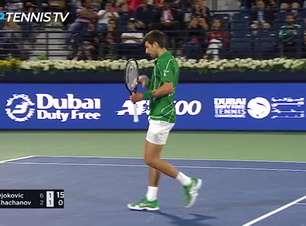 TÊNIS: ATP Dubai: Djokovic despacha Khachanov (6-2, 6-2)