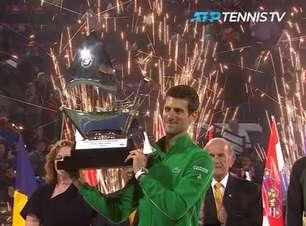 TÊNIS: ATP Dubai: Djokovic bate Tsitsipas (6-3, 6-4) e vence o torneio em Dubai