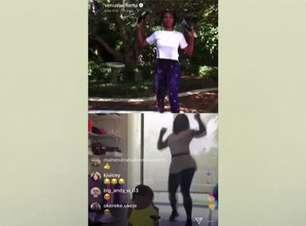 VIRAL: Tênis: Serena se junta à irmã Venus e à atriz Amy Schumer para treino online