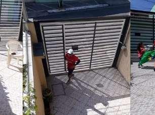 Paulistano corre maratona no quintal durante a quarentena