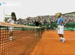 TÊNIS: ATP: Flashback: O Rei do Saibro vence o Mestre de Monte Carlo
