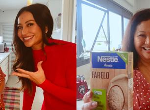 Receitas Nestlé traz pais de famosos para ensinarem receitas de família