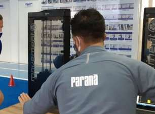 Paraná faz testes em elenco e confirma um caso de infecção por coronavírus