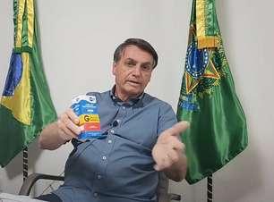 Bolsonaro defende uso de remédios sem orientações da bula
