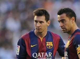Messi é um animal e estará na Copa do Mundo de 2022, avisa Xavi