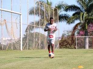 Lucas Silva pede foco total para estreia do Vila Nova-GO na Série C