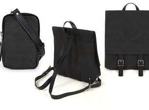 UMA X lança bolsas e mochilas produzidas em papel amassado