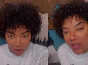 """Ludmilla mostra cabelos naturais: """"Cachinhos bonitinhos"""""""