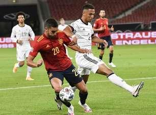 Espanha e Alemanha ficam no empate pela Liga das Nações