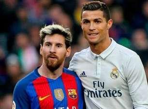 """Repórter chora com possível """"última dança"""" de Messi e CR7"""