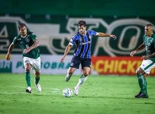 Na Serrinha, Goiás e Grêmio terminam empatados sem gols
