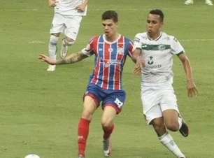 Bahia e Goiás ficam no empate na Fonte Nova