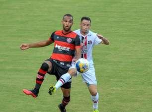 Vitória derrota Santa Cruz no jogo de abertura da Copa do Nordeste