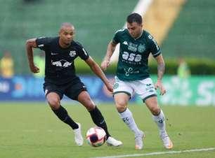 Com um a menos, Bragantino sustenta empate contra o Guarani em Campinas