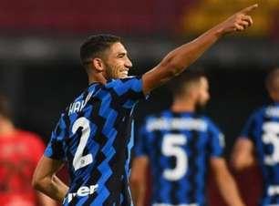 Arsenal e Chelsea devem batalhar por Hakimi, da Inter de Milão