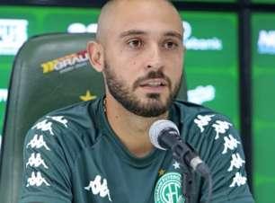 Régis é apresentado ao Guarani e fala sobre a responsabilidade na equipe