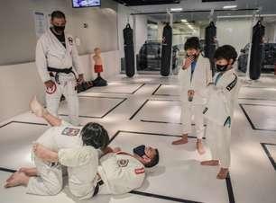 Team Nogueira Kids se tornou válvula de escape durante a pandemia