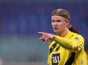 Borussia Dortmund coloca preço para saída de Haaland nesta janela