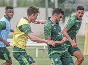 Veja a provável escalação do Coritiba na estreia da Copa do Brasil