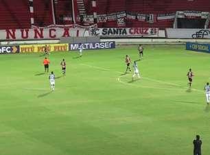 COPA DO NORDESTE: Gols de Santa Cruz 1 x 2 CSA