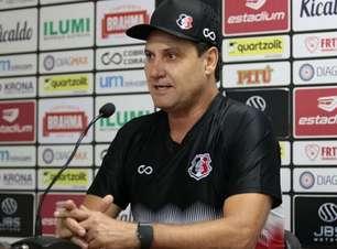 Após vitória na Copa do Nordeste, Brigatti quer 'arrancada' do Santa Cruz