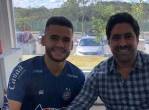 Bahia renova contrato com o volante Patrick de Lucca
