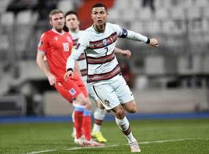 CR7 desencanta, e Portugal vence Luxemburgo após susto