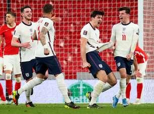 Inglaterra vence a Polônia por 2 a 1 pelas Eliminatórias