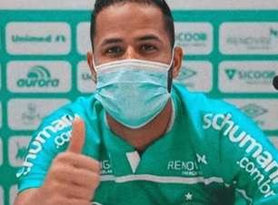 Geuvânio analisa a sua estreia na Chapecoense